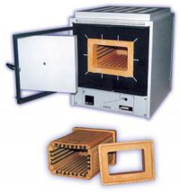 Муфельная печь SNOL 15/1300 с программируемым терморегулятором