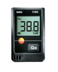 Гигрометр Testo 174 H комплект - Мини логгер температуры и влажности (0572 0566)