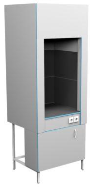 Шкаф вытяжной для муфельных печей ШВ НВп 800(800*716*2200)
