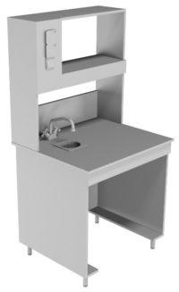 Стол пристенный химический НВ-800 ПКХ (760*700*1650)