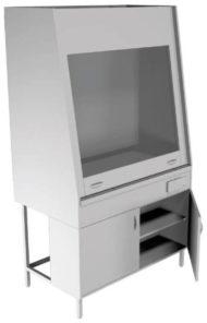 Вытяжной шкаф НВ-1250 ШВ-БЦ (1240*700*1960)