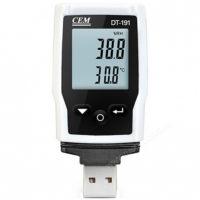 Логгер температуры и влажности CEM DT-191A - бесконтактный влагомер