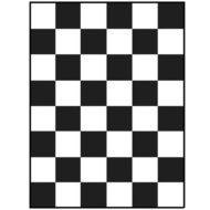Шахматная доска для определения укрывистости 180х240 мм
