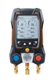 Testo 550s – Умный цифровой манометрический коллектор с 2-х ходовым блоком клапанов и Bluetooth (0564 5500)